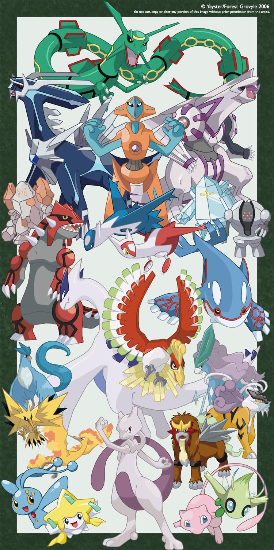 Pokemons legendarios imagui - Pokemon legendaire ...