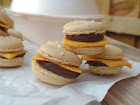 cheeseburger macarons.