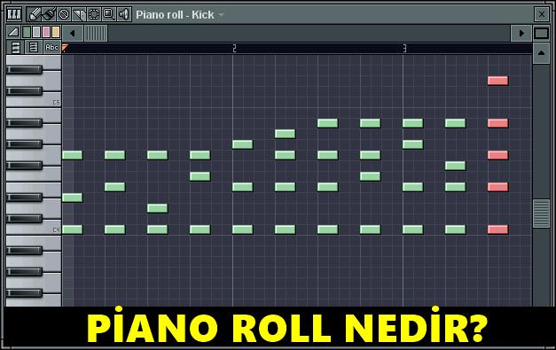 Piano Roll Nedir?