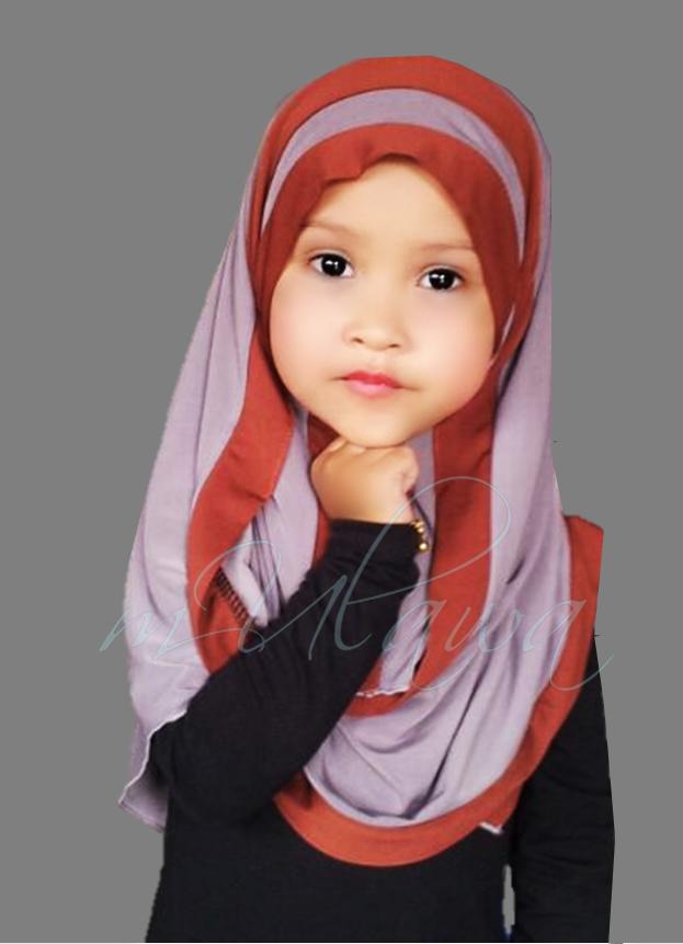 Bentuk muka dan gaya tudung yang sesuai cara pakai shawl