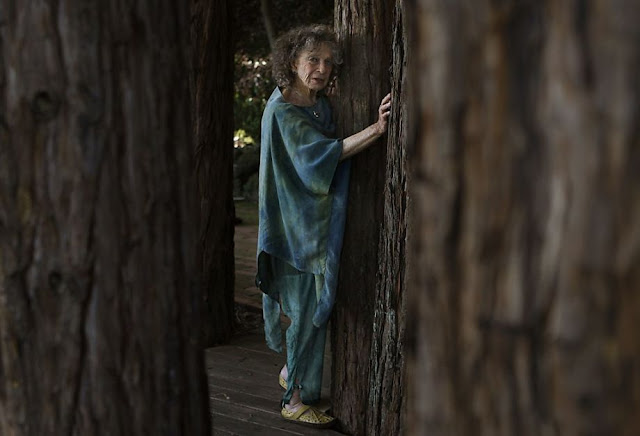 Anna Halprin; photo by Liz Hafalia, The Chronicle