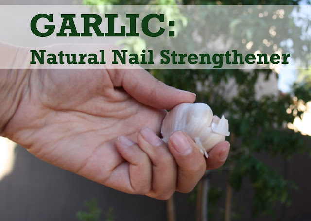 Garlic nail strengthening