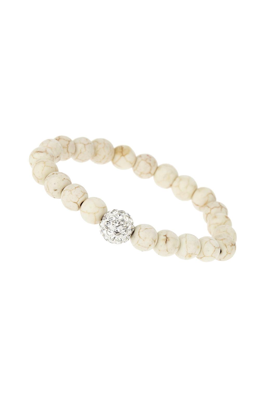 Wallis Cream Rhinestone Bracelet