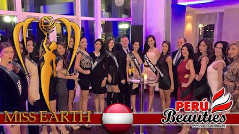 Imágenes de candidatas con sus bandas - Miss Earth 2015