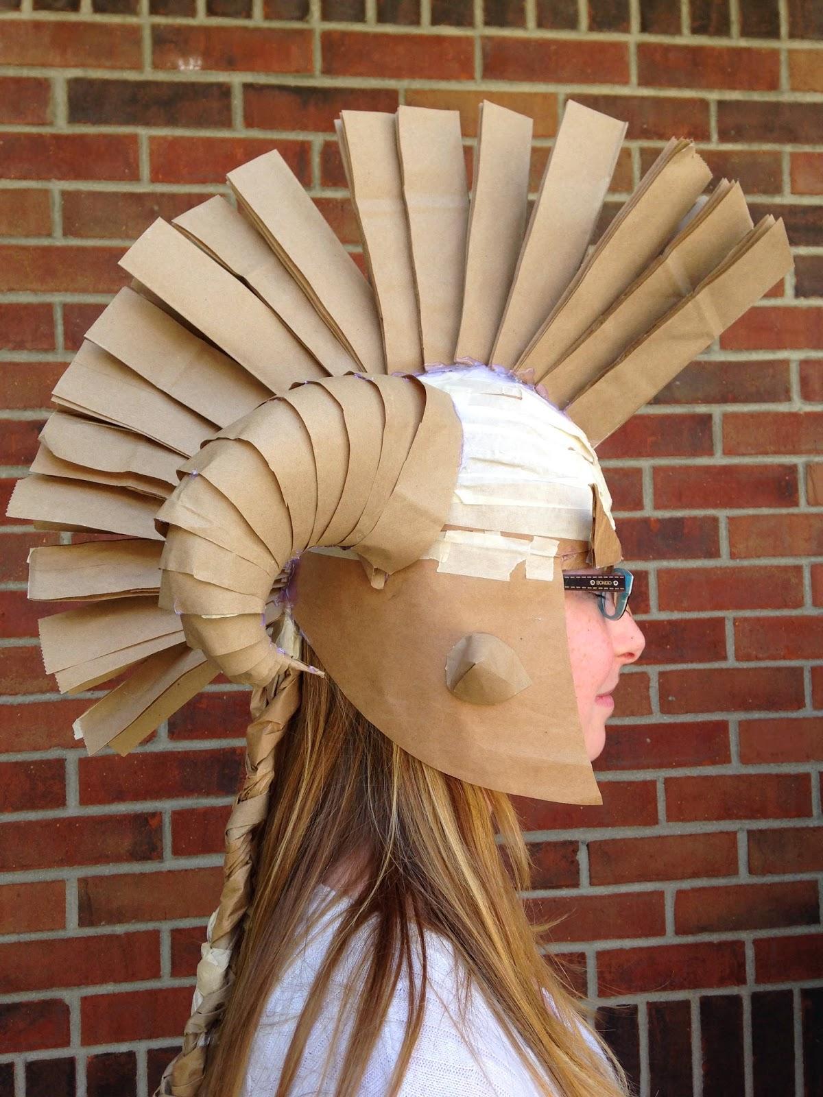 adventures of creativity   student work  paper bag hats