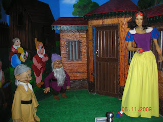 Snow white and seven dwarfs at innovative film city, Bangalore