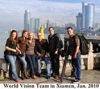 Marilee Dunker daughter of Bob Pierce search White Jade Xiamen Gulangyu World Vision International