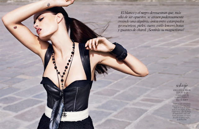 Isabeli Fontana in Vogue Mexico, September 2011