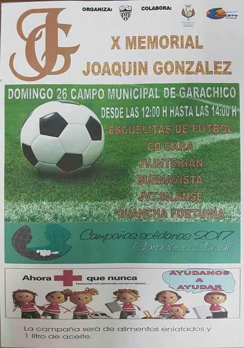 X Memorial Joaquín González