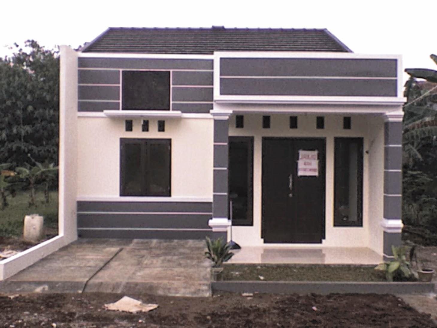 Contoh Gambar Design Dan Denah Rumah Minimalis Type 21 Rumah