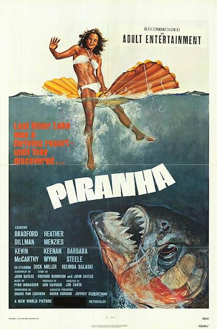 Piranha 1978 poster