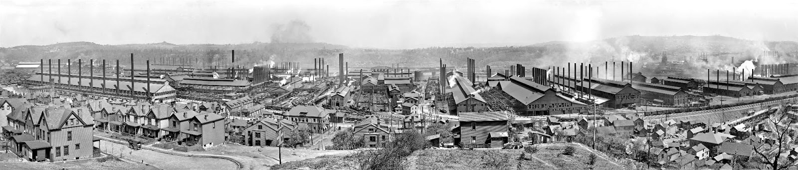 a look at the steel mill immigrants of industrial america Many european immigrants without industrial skills flooded into american  factories and steel mills these new comer's came in search of better economic .