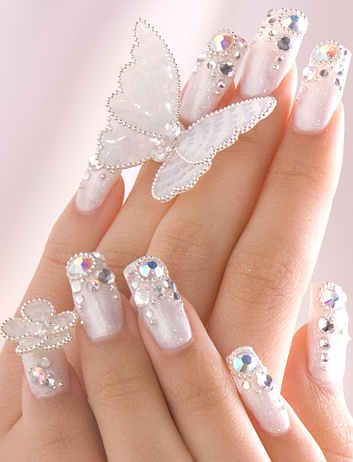 Beauty nail design for women nails design 2011 nails design shape of the flower head nails design flow naturally once yellow nails design the leaf for the highlight paint nail in a pastel shade like prinsesfo Gallery