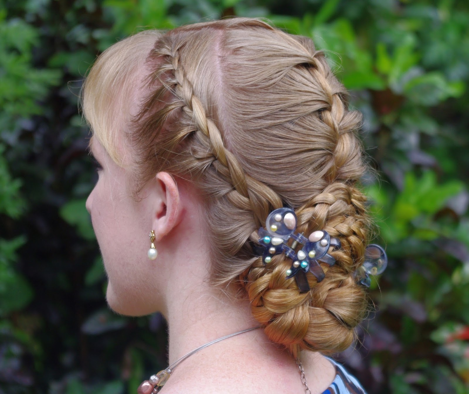 Lace Braid/French Braid Combination Hairstyle ~ New Hairstyles Today