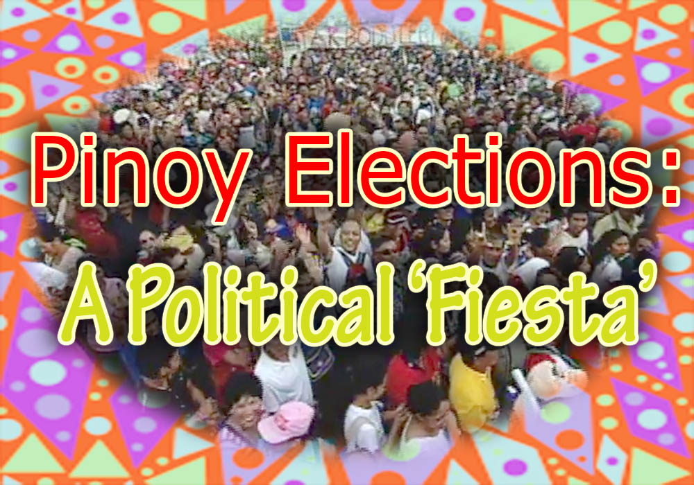 philippine elections essay Election campaigns are now on the roll politicians are getting busy thinking of many ways to ensure their victory in the coming.