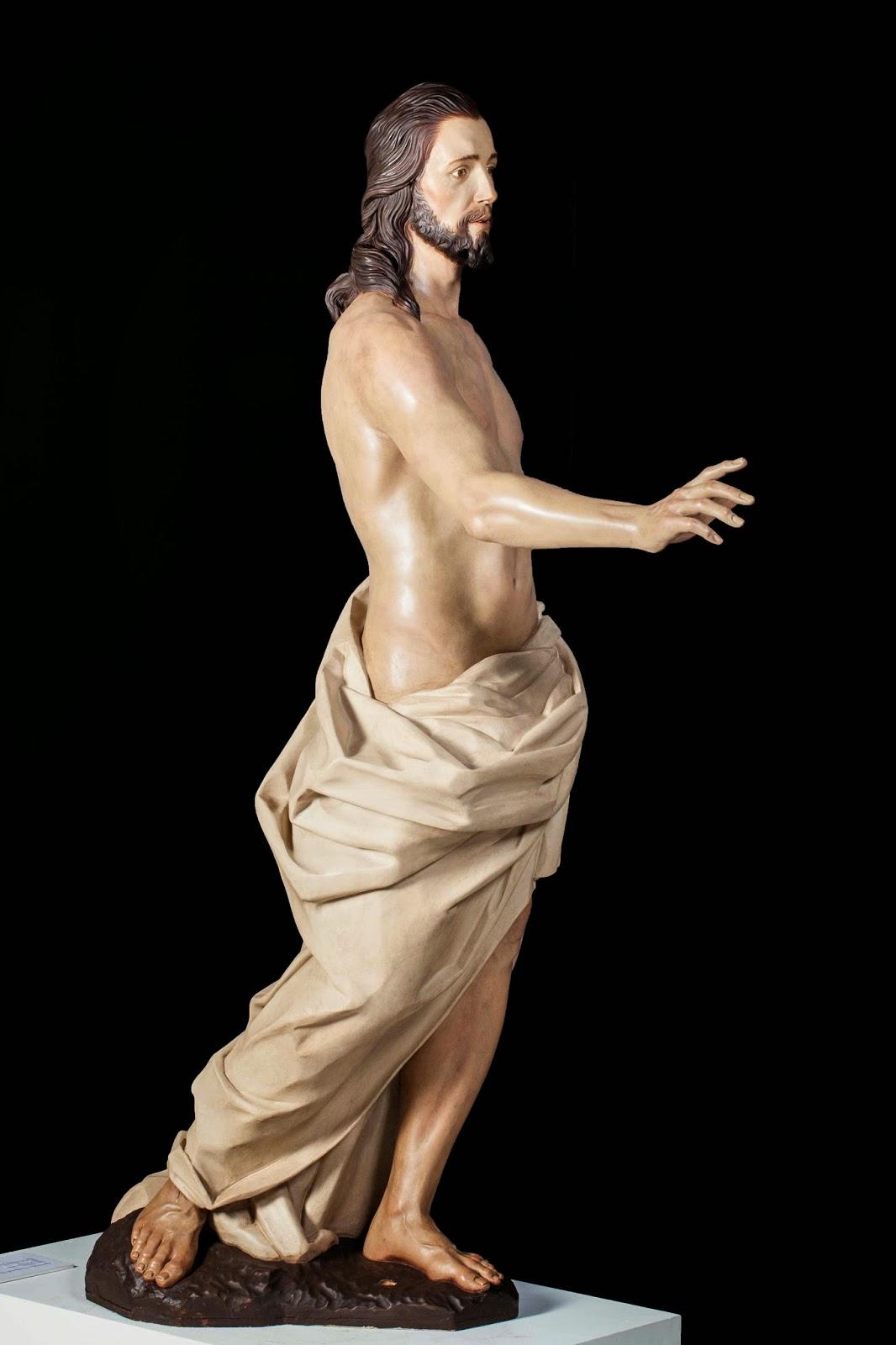 Resucitado Semana Santa Jumilla escultura 2