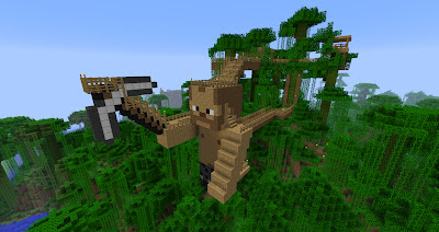 How To Build A Mystical Tree House In Minecraft