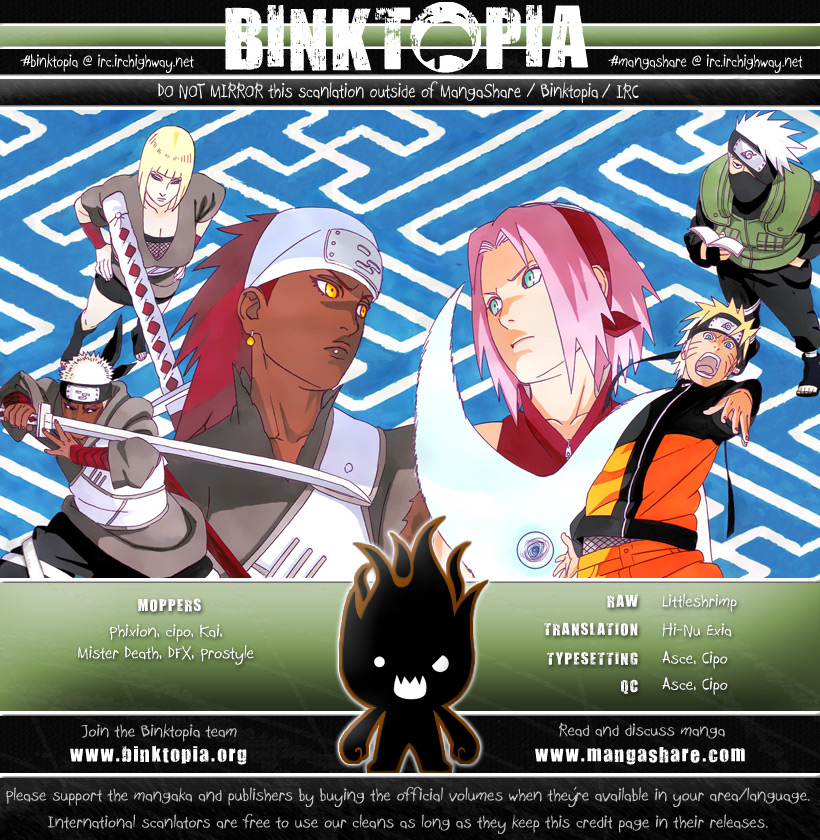 Naruto chap 461 Trang 1 - Mangak.info