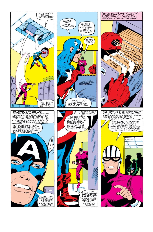 Captain America (1968) Issue #291 #207 - English 17