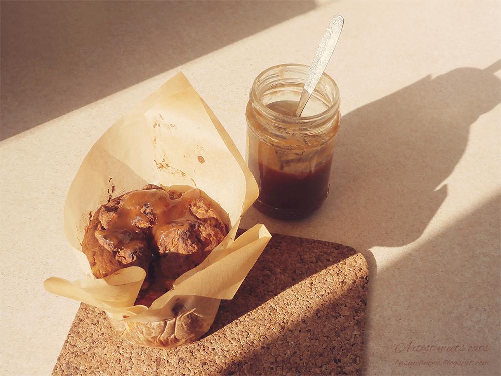 muffinka z miodem