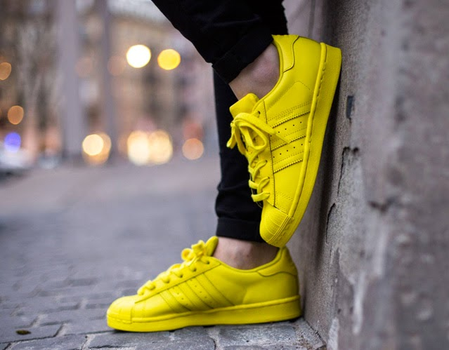 superstar gialle adidas