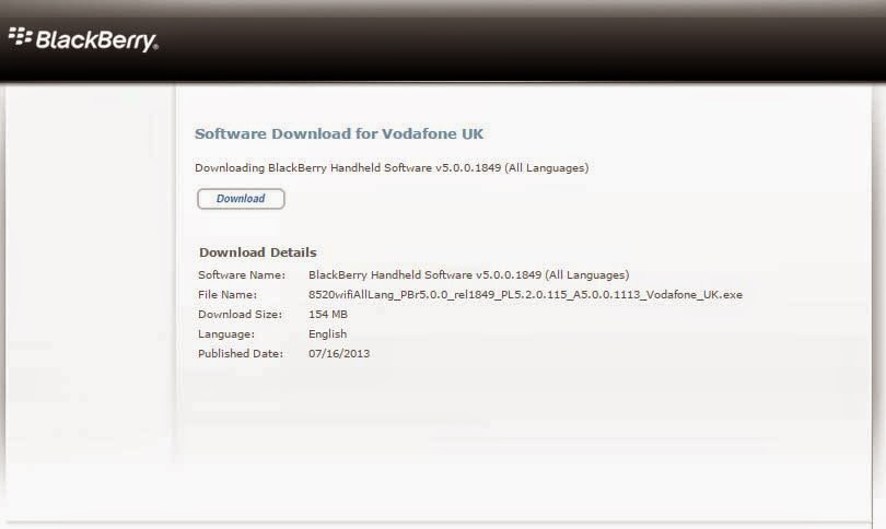 Download OS Blackberry
