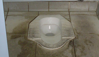 chinese toilet