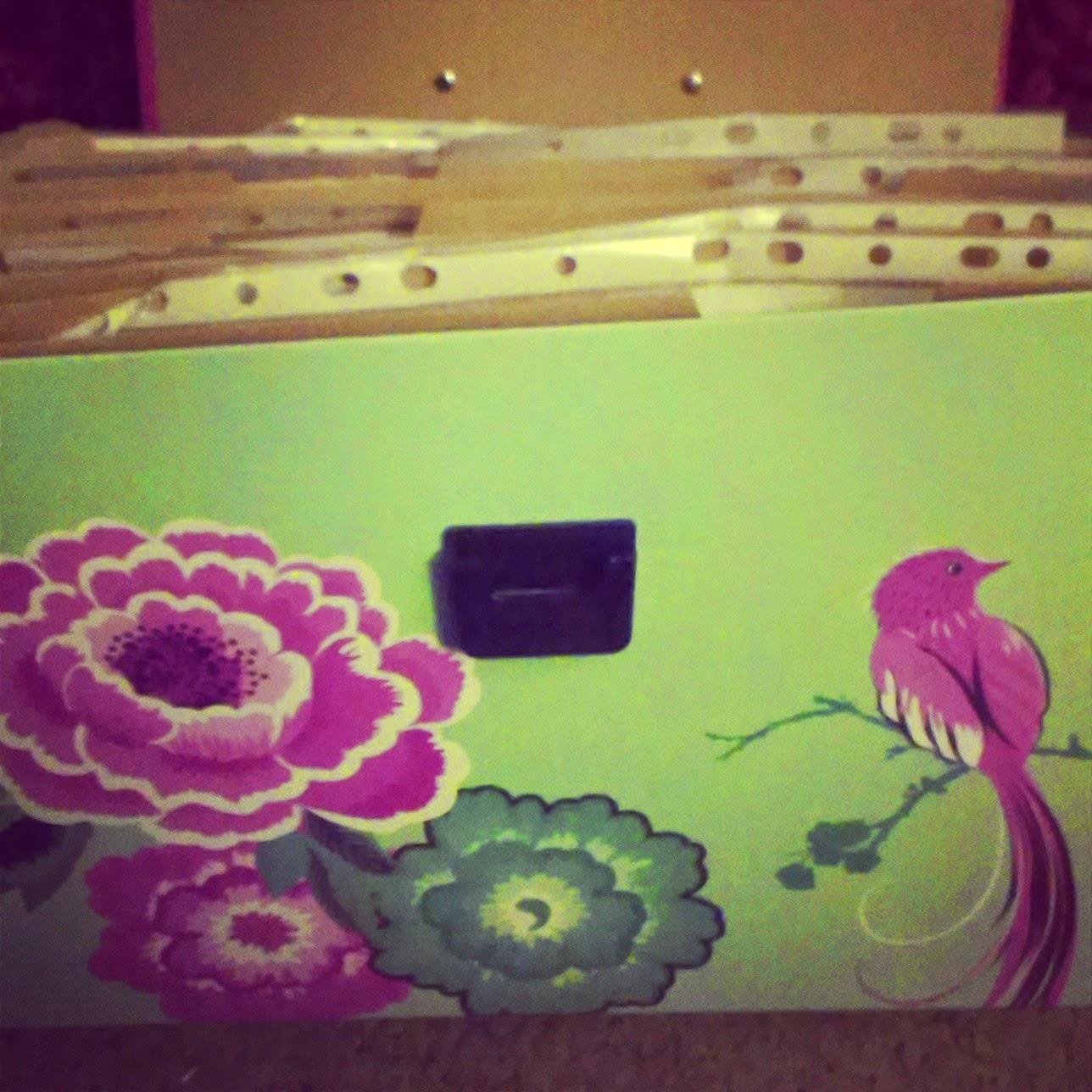 Recipe storage box