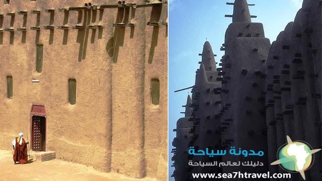 مسجد دجيني في مالي افريقيا