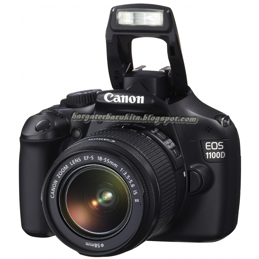 Harga Kamera SLR Canon EOS 1100D Januari 2013