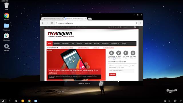 Download Remix OS Gratis, OS Android untuk PC