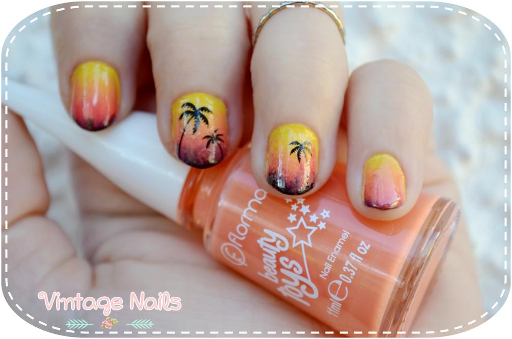 nail art, manicura, manicure, flormar, born pretty store, summer nails, vintage nails