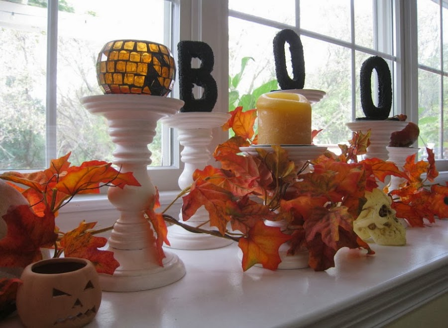 Decoracion para fiestas de halloween - Decoracion casa halloween ...