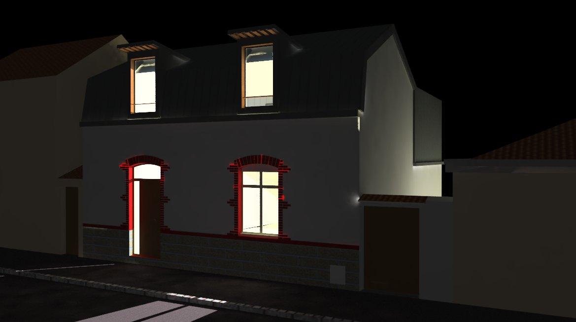 Design et architecture interieure etude d 39 une for Architecture interieure maison