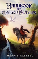 handbook for dragon slayers by merri haskell book cover