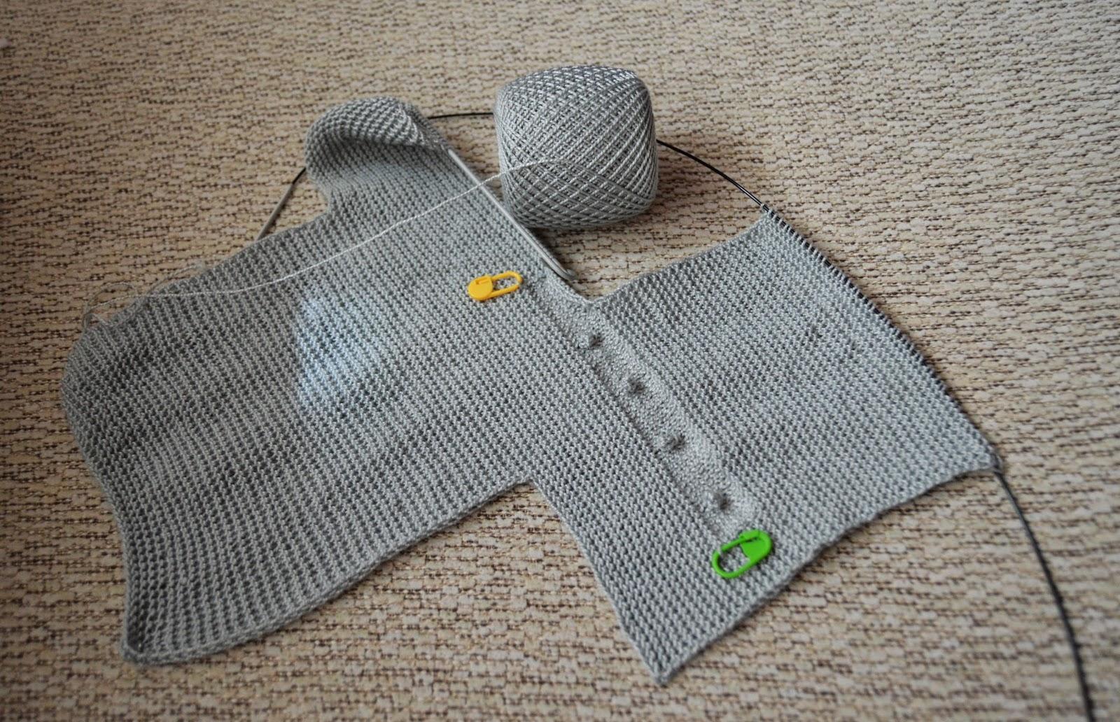Tutorial vestido con jersey de punto con volantes y falda - Patrones jerseys de punto hechos a mano ...