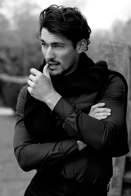 David Gandy by Arnaldo Anaya-Lucca for GQ Japan
