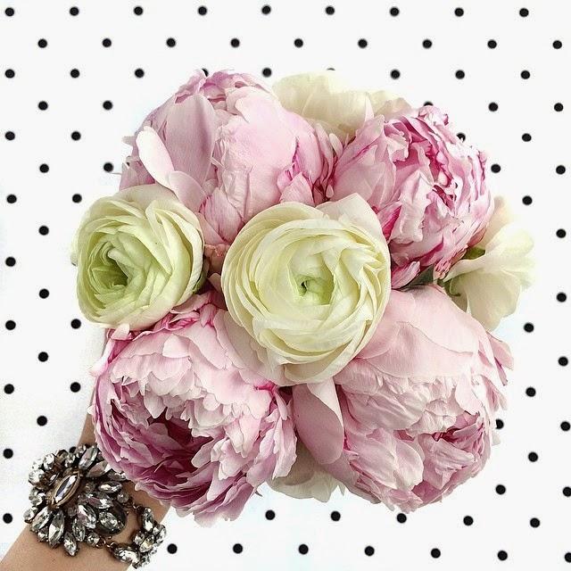 crazy-style-love-instagram, Jenny-Jovanovic, polka-dot, peony-flower