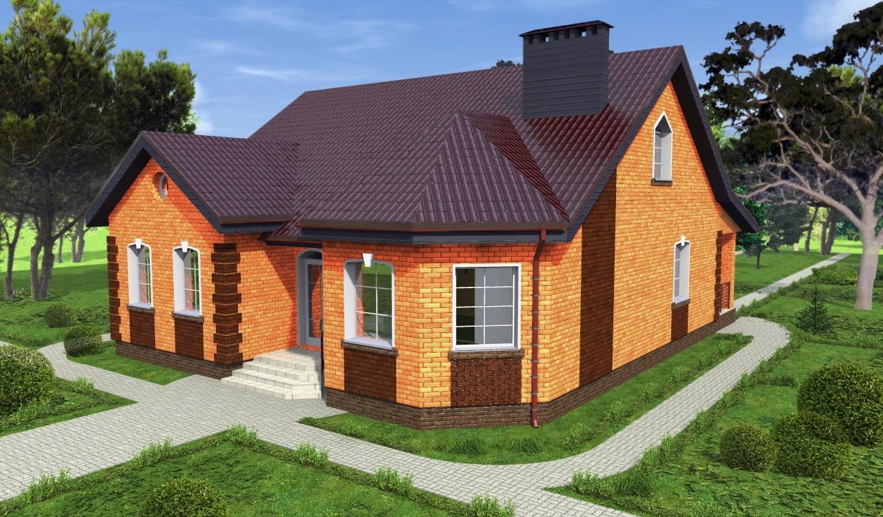 Отделка загородного дома: наружная отделка и внутренняя в
