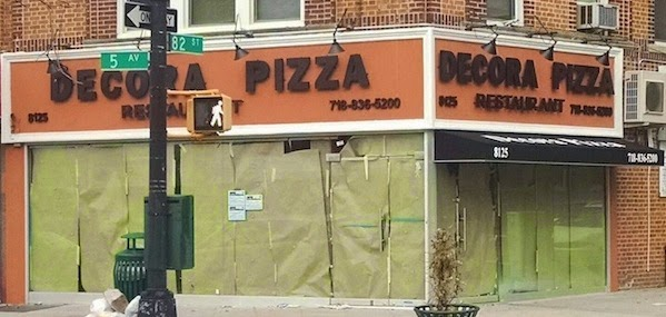 Decora Pizza renovation