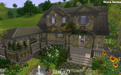 My sims 3 blog old farm by jarkad for Classic house sims 3
