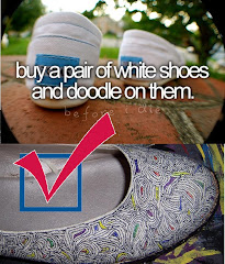 Bucket List # 6 I want to doodle on my shoes.....DID IT....