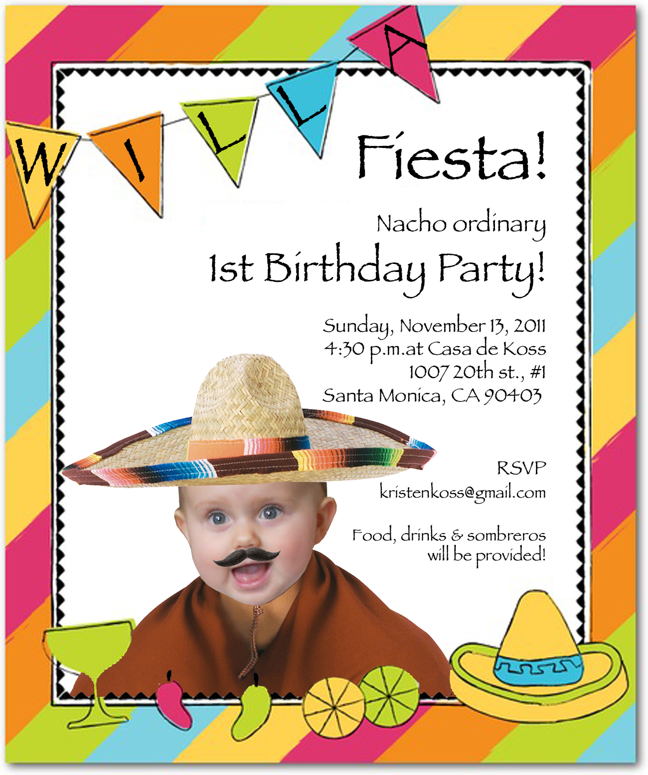 1St Birthday Party Invite was good invitation example