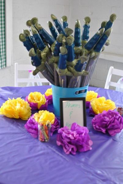Tangled Party Decoration Ideas Princess Party Decorations