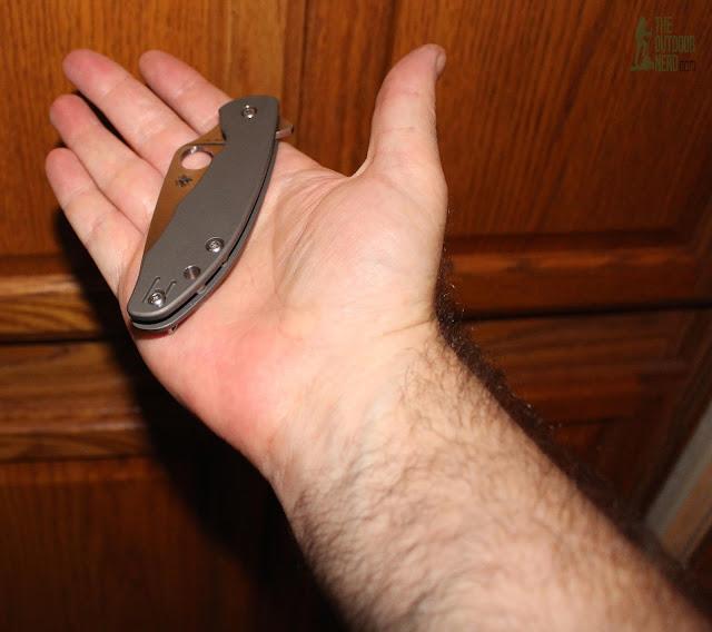 Spyderco Mantra EDC Pocket Knife - In Hand 3