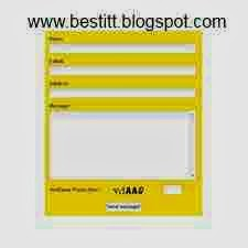 Create a Contact Form for Blogger, Adding Form to Blogger for  contact us is very important get contact form widget.