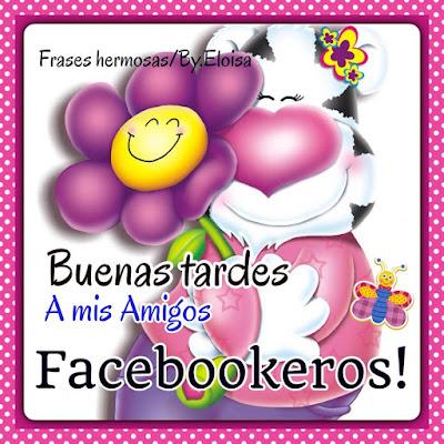 buenas tardes para facebook