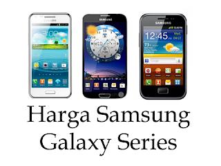 Info Harga HP Samsung Galaxy Terbaru Agustus 2012