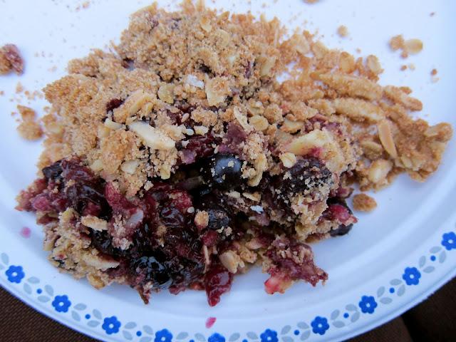 Jumbleberry Crisp