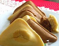Cake in a Sandwich Toaster / Maker, nigerian cake